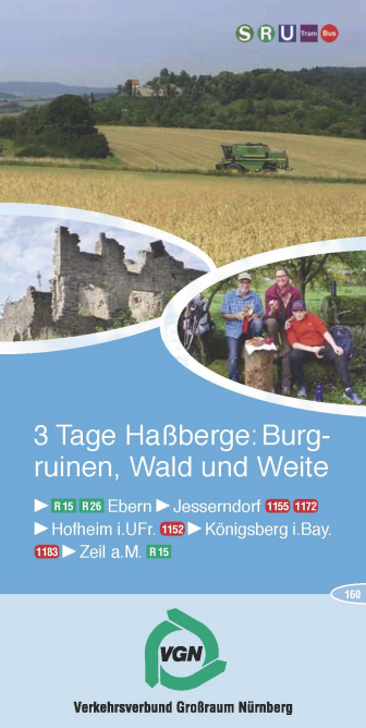 VGN-3-Tagestour Wandern