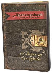 Abenteuerbuch für Burgen- und Geisterforscher